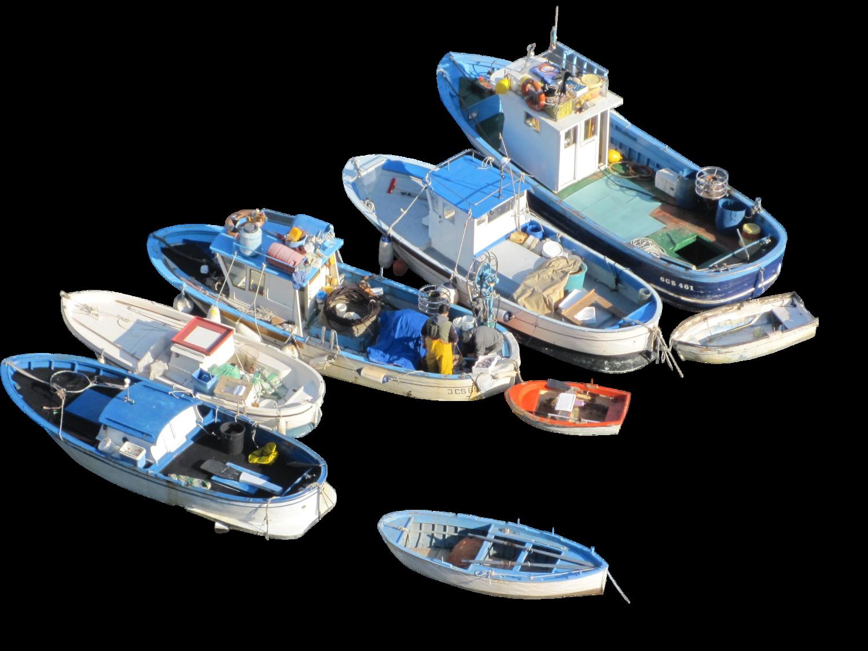 Fishingboatsbirdeye