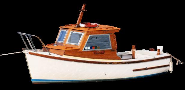 Fishingboatfrontleftwood