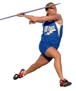 Girlathletethrowingjavelin