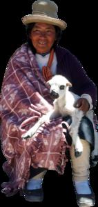 Peruvianwomangoat
