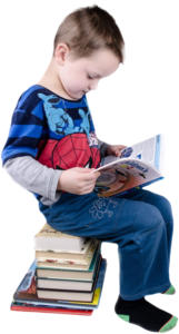 Childreadingsitting