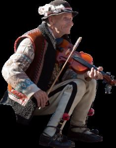 Oldmanviolinmusicstreet