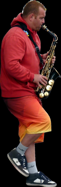 Manstreetsaxophonemusicleaning