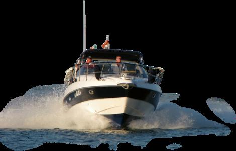 Speedboatfrontwater