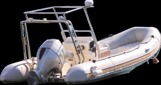 Speedboatinflatableback