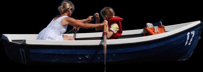 Womandaughterrowboatside2