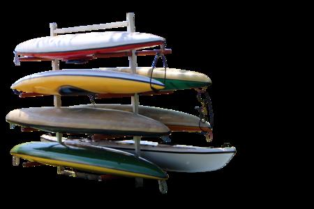 Canoesstored